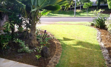 1-Hour Spring-Cleanup Package for Up to 3,000 Square Feet of Lawn (a $200 value) - Hawai'i Green Lawns & Irrigation in