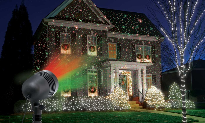 lot projecteur laser et guirlande groupon On guirlande noel laser