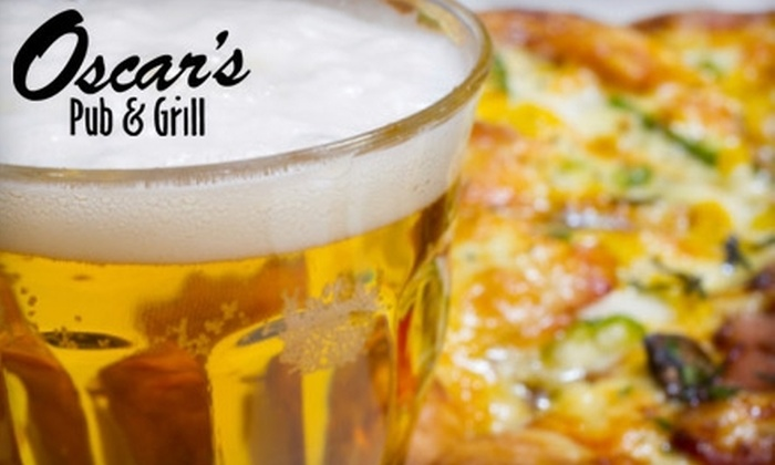 Oscar's Pub and Grill - Rockford: $20 for $40 Worth of Casual Cuisine and Drinks at Oscar's Pub and Grill
