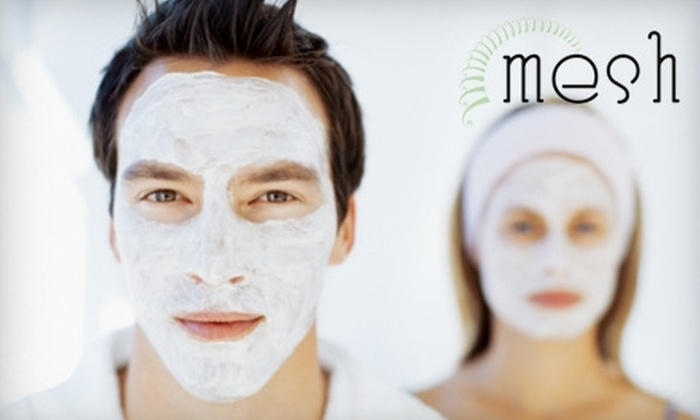 Mesh Barbership Spa Salon - Andover: $70 for a One-Hour Body Polish and Customized Facial at Mesh