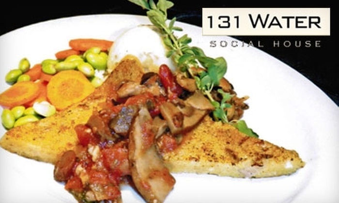 131 Water Social House - Downtown Vancouver: $11 for $25 Worth of Food and Drinks at 131 Water Social House