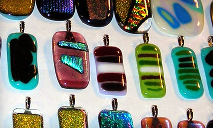 The Studio of Deenie Pacik - Warwick: Fun Fridays Fused Glass Class for Four or Eight at The Studio of Deenie Pacik in Warwick (Up to 59% Off)