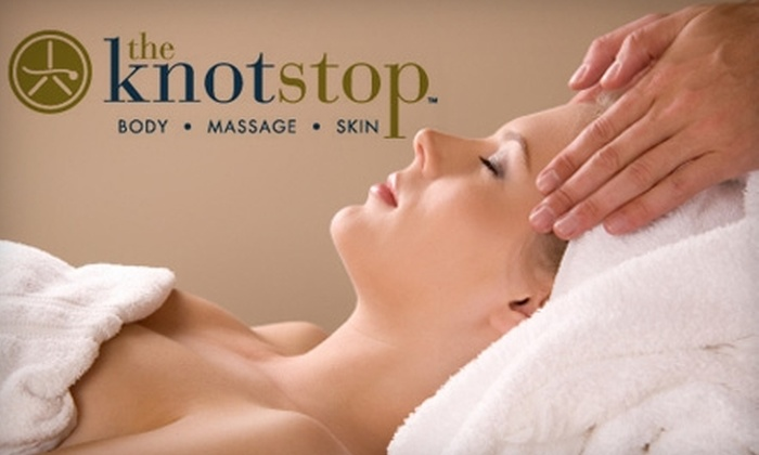 The Knotstop - Aliso Viejo: $40 for a 60-Minute Swedish or Deep-Tissue Massage Plus Aromatherapy Treatment at The Knotstop in Aliso Viejo (Up to $85 Value)