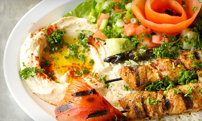 Sinbad's Feast - Roswell-Alpharetta: Mediterranean Lunch or Dinner Buffet for Two or Four at Sinbad's Feast in Johns Creek (Up to 58% Off)