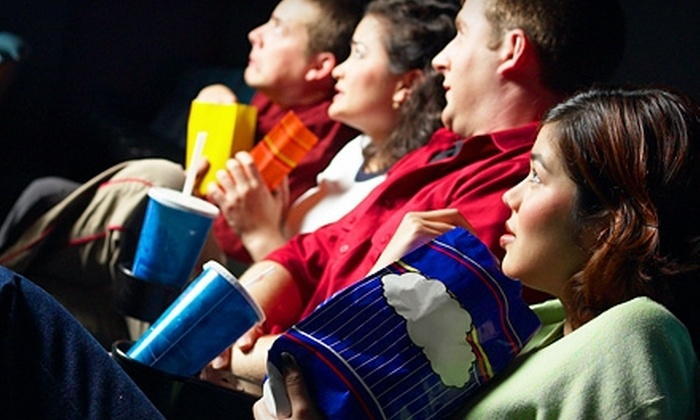 The Edge 8 - Greenville: $10 for Two Tickets to Any Movie and One Large Popcorn at The Edge 8 (Up to $23 Value)