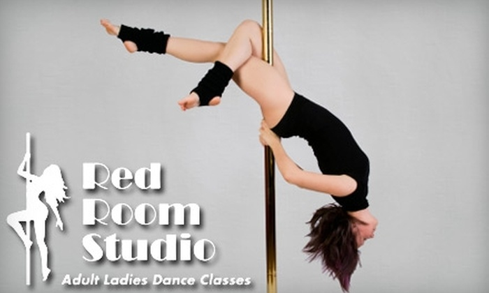 Red Room Studio - Kemah: $20 for Two Pole-Dancing or Chair-Dancing Classes at Red Room Studio in Kemah (Up to $40 Value)