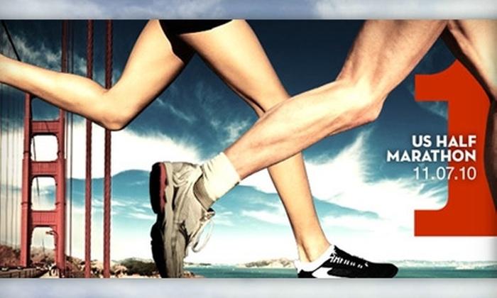 Project Sport, LLC: $40 Registration to Run the US Half Marathon, San Francisco ($80 Value)