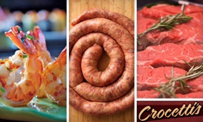 Crocetti's Oakdale Packing Company - East Bridgewater: $10 for $20 Worth of Sausage, Steaks, and More at Crocetti's Oakdale Packing Company