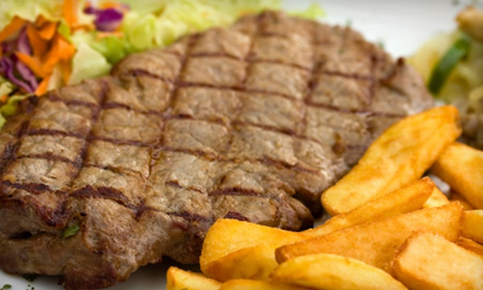 Fresh Greek Grill - Silver Spring: $14 for a Meal for Two with Appetizer and Entrees at Fresh Greek Grill in Silver Spring (Up to $29.52 Value)