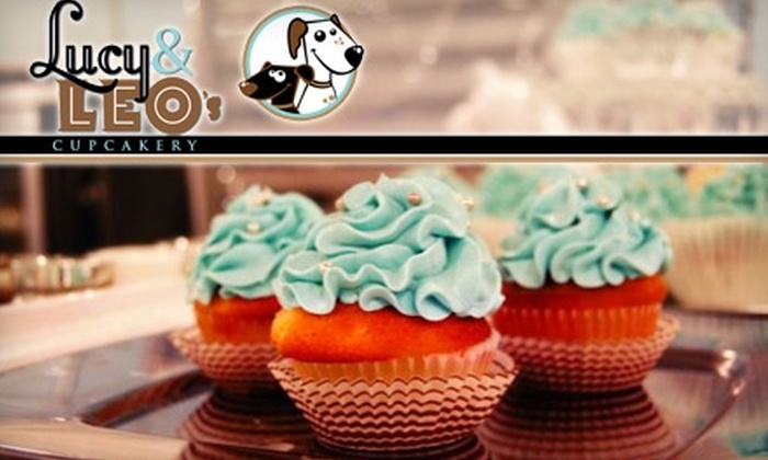 Lucy & Leo's Cupcakery - Lafayette Park: $7 for Six Cupcakes ($14.51 Value) or $15 Toward Special Orders at Lucy & Leo's Cupcakery
