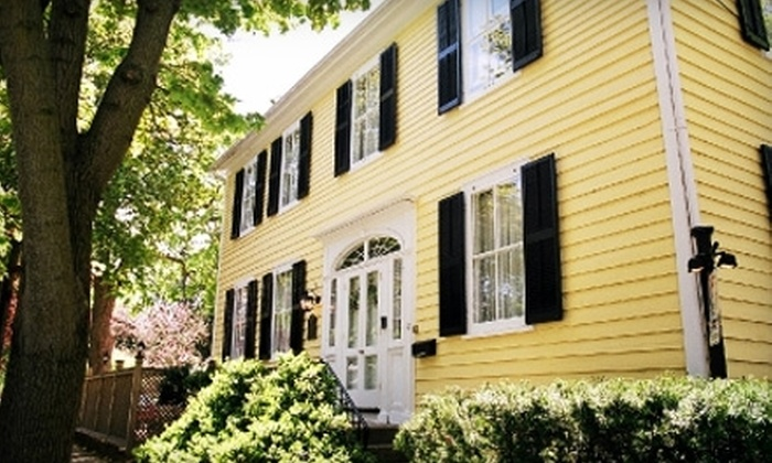 Burke House Inn - Niagara on the Lake: $99 for One-Night Stay at the Burke House Inn