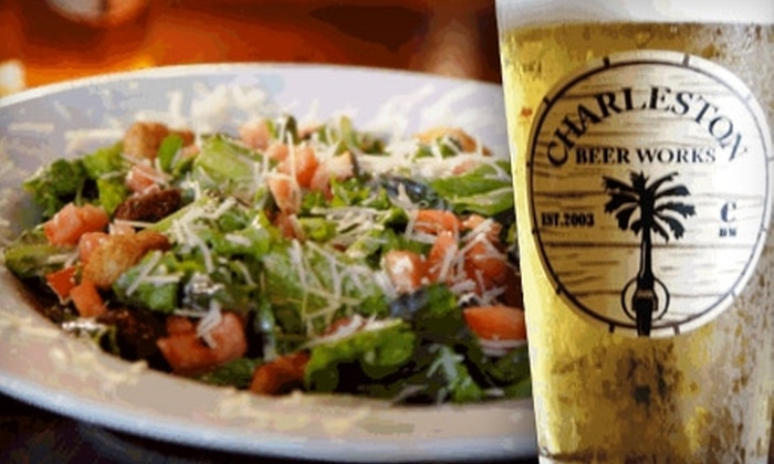 Charleston Beer Works - Mazyck - Wraggborough: $6 for $12 Worth of American Fare and Drink at Charleston Beer Works