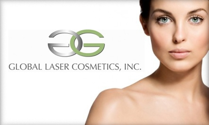 Global Laser Center - Linda Vista: $95 for Three Lip or Chin Laser Hair-Removal Treatments from Global Laser Cosmetics ($297 Value)