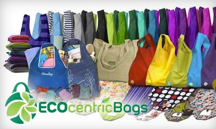 ECOcentric Bags: $20 for $40 Towards Eco-Friendly Merchandise at ECOcentric Bags