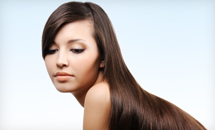 1 Brazilian Blowout Hair-Smoothing Treatment  - Studio 247 in Chagrin Falls