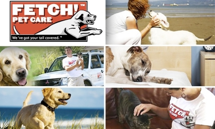 Fetch! Pet Care - Dallas: $10 for $50 Worth of Services from Fetch! Pet Care