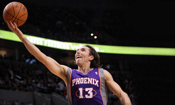 Phoenix Suns - Downtown Phoenix: One Ticket Package at Phoenix Suns Game at US Airways Center. Two Games and Two Seating Options Available.
