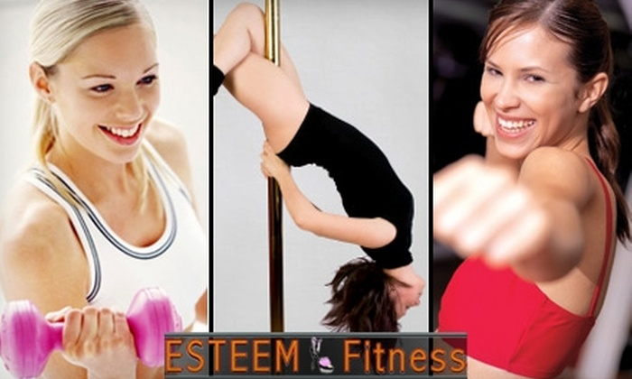 ESTEEM Fitness - Northeast Virginia Beach: $39 for a $100 Gift Certificate or Ten Pole Fitness or Other Classes ($170 Value) at ESTEEM Fitness