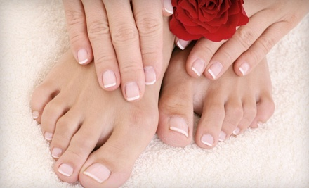 Deluxe Manicure and Pedicure (a $40 value) - Mona Z Salon & Spa in Huntersville