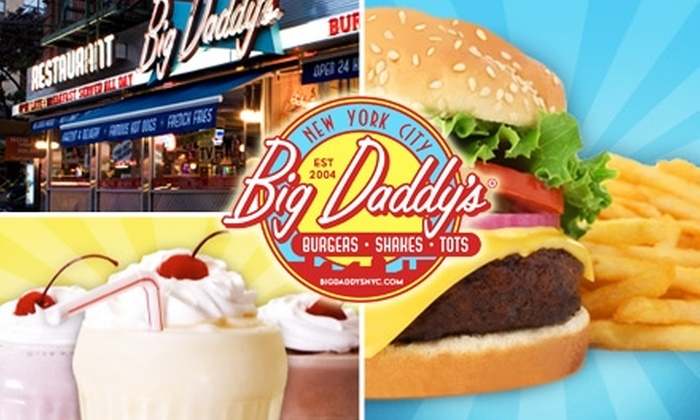 Big Daddy's  - Upper East Side: $15 for $30 Worth of Retro Burgers & Shakes at Big Daddy's