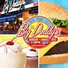 Half Off Burgers and Shakes at Big Daddy's