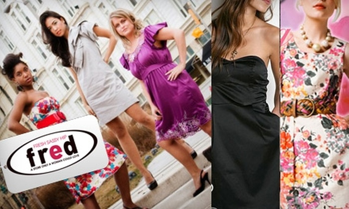 Fred Boutique - Juneau Town: $15 for $30 Toward Clothing and Accessories from Fred Boutique