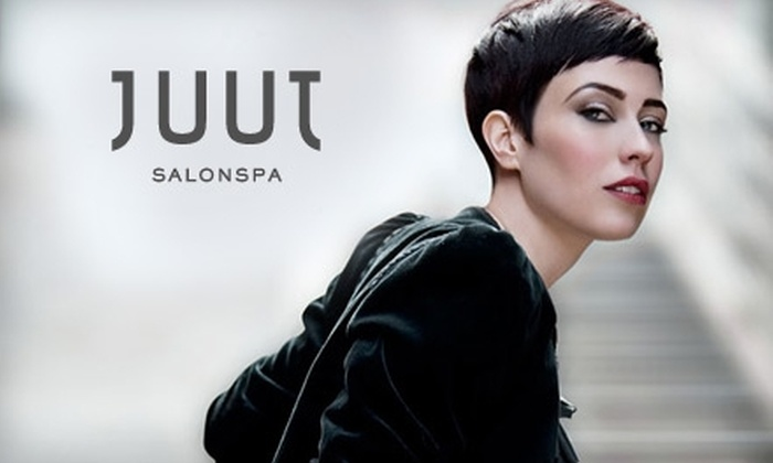 Juut Salonspa  - Multiple Locations: $20 for $45 Worth of Salon and Spa Services at Juut Salonspa