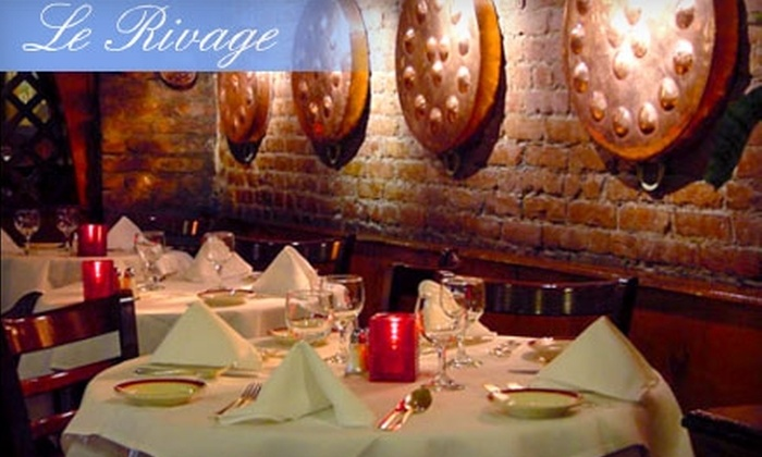 Le Rivage - Clinton: $12 for Prix Fixe French Meal at Le Rivage in Midtown ($25 value)