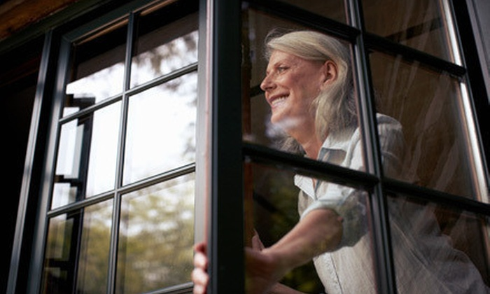 Healthy Home Window Cleaning - Salem OR: $59 for Interior and Exterior Cleaning of 12 Windowpanes from Healthy Home Carpet Cleaning ($120 Value)
