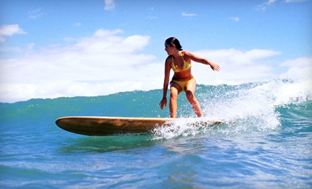 2-Hour Surf Lesson for 1 (a $89 value) - Hawaiian Surf Adventures in Honolulu