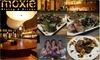 CLOSED-Moxie - Lakeview: $15 for $35 Groupon to Moxie