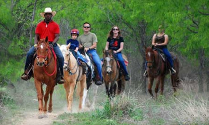 Salado Creek Ranch - San Antonio: $20 for a One-Hour Guided Trail Ride at Salado Creek Ranch ($40 Value)