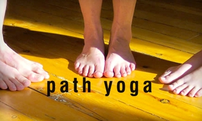 Path Yoga - Downtown Kingston: $40 for a One-Month Membership to Path Yoga ($140 Value)