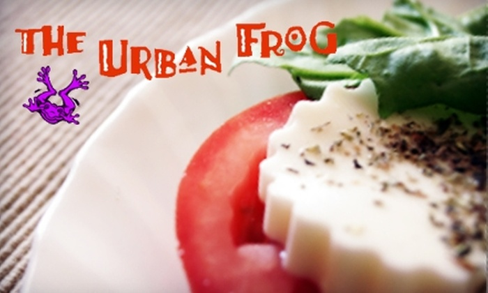 The Urban Frog - Green Bay: $7 for $15 Worth of Healthy Seasonal Fare at The Urban Frog