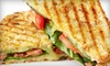 Soupanini's Cafe-CLOSED - Clover: $5 for $10 Worth of Casual Café Fare at Soupanini's Café in Clover