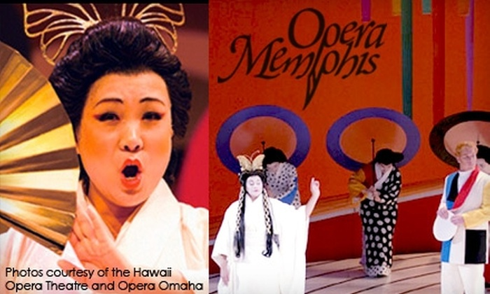 Opera Memphis - Multiple Locations: $25 for One Ticket to the April 20 Performance of Madame Butterfly Presented by Opera Memphis