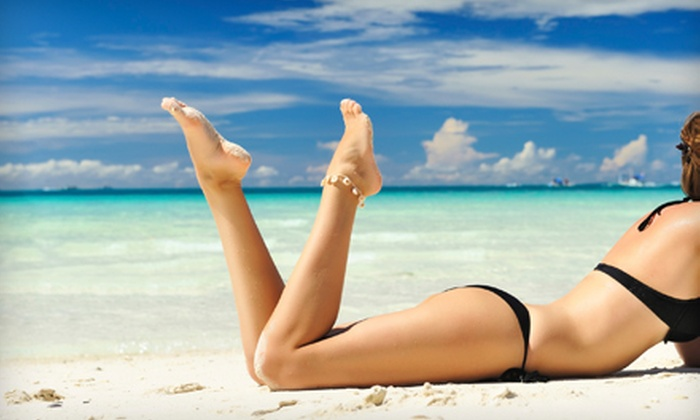 Sun Mist Custom Spray Tanning Studio - College Park: $17 for One Full-Body Custom Spray Tan at Sun Mist Custom Spray Tanning Studio ($35 Value)