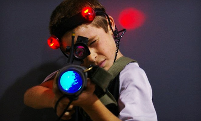 StraTAGem Laser Missions - Frankfort: 90 Minutes of Open-Play Laser Tag for Two, Four or Six at StraTAGem Laser Missions in Frankfort (Up to 68% Off)