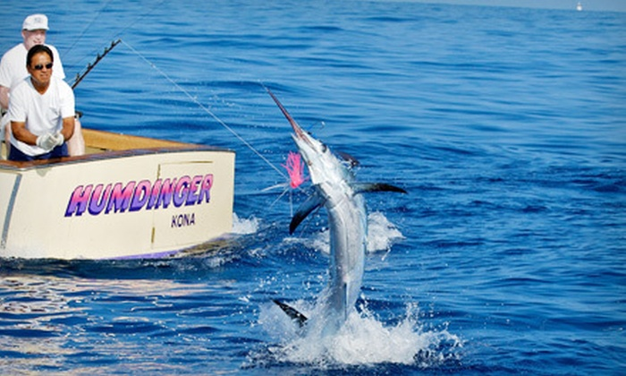 Humdinger Sportfishing - Kailua Kona: $385 for a Half-Day Kona Deep-Sea-Fishing Outing for Six from Humdinger Sportfishing in Kailua-Kona ($785 Value)