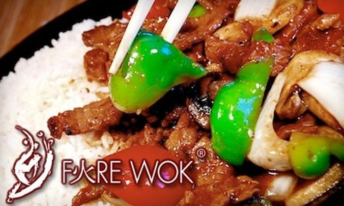 Fire Wok - Stone Oak: $7 for $15 Worth of Fresh Asian Fare at Fire Wok in Stone Oak