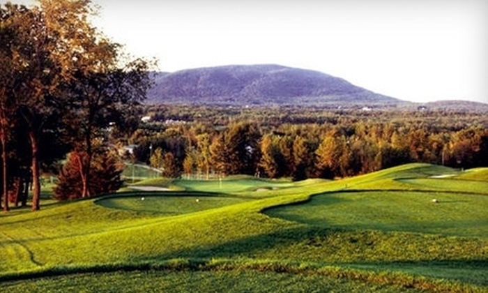 Château-Bromont - Bromont: One-Night Resort Stay at Château-Bromont. Choose Between Two Options.