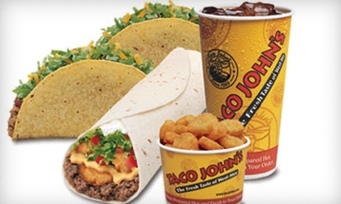 Taco John's - Multiple Locations: $7 for $14 Worth of West-Mex Fare at Taco John's