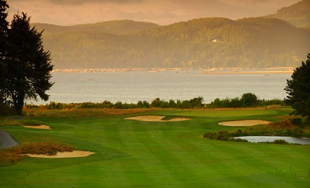 18-Hole Round of Golf for 2 with Cart Rental  - Salishan Spa & Golf Resort in Gleneden Beach