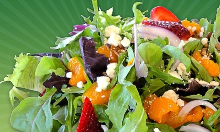 Green Market Cafe and Kiwi Frozen Yogurt - Oldsmar: $5 for $10 Worth of Café Fare and Frozen Yogurt at Green Market Cafe and Kiwi Frozen Yogurt in Oldsmar