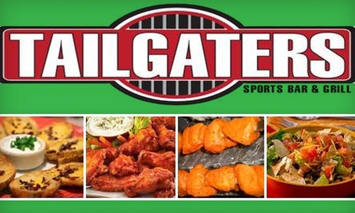 Tailgaters Sports Bar & Grill - University: $10 for $20 Worth of Savory Bar Eats and Drinks at Tailgaters Sports Bar & Grill