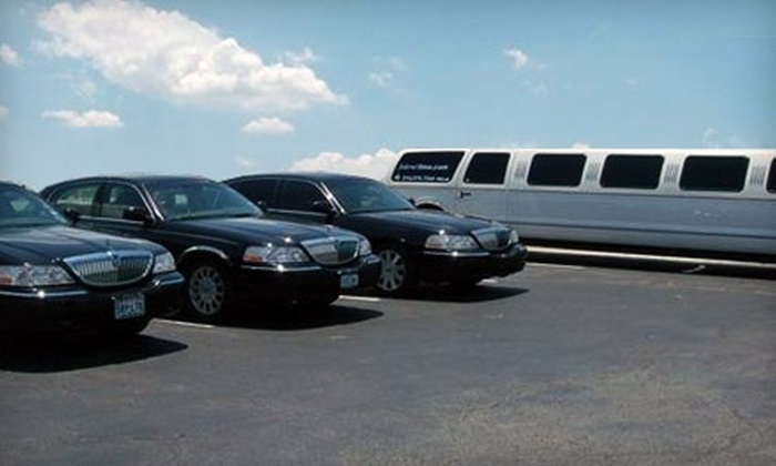 Federal Limousine - Multiple Locations: $40 for $80 Worth of Airport Transportation or $80 for $165 Worth of Hourly Rental from Federal Limousine