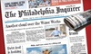 """""""Philadelphia Inquirer"""" : $26 for a 26-Week Sunday Subscription to the """"Philadelphia Inquirer"""" ($55.12 Value)"""
