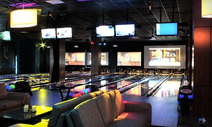 Sparians Bowling Boutique & Bistro - North Hills: $20 for $40 Worth of American Cuisine and Bowling at Sparians Bowling Boutique & Bistro