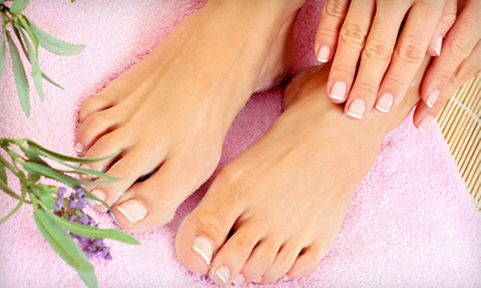 Salon Da Vinci - Port Monmouth: One or Three Mani-Pedis at Salon Da Vinci in Port Monmouth (Up to 57% Off)