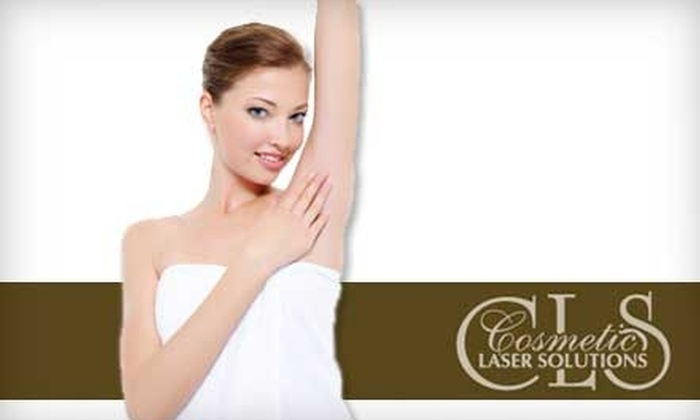 Cosmetic Laser Solutions - Conway: $99 for Three Laser Hair Removal Sessions at Cosmetic Laser Solutions in Conway (Up to $570 Value)